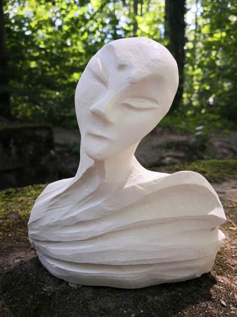 METAMORPHOSIS,  Sculpture en argile de Cathy Yersin