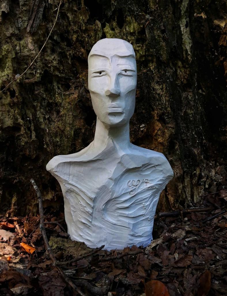 CLINT, Sculpture en argile de Cathy Yersin